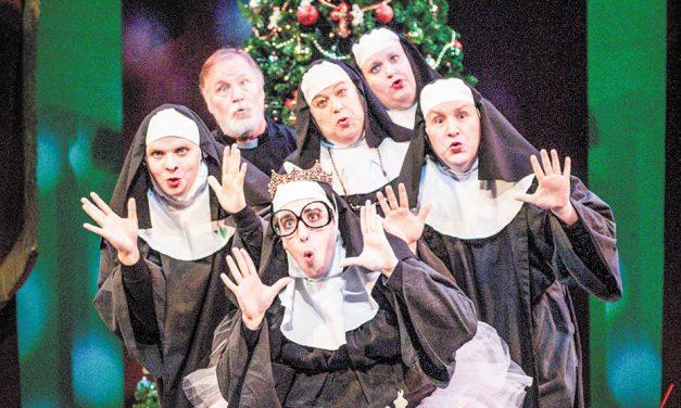 Puns and nuns on the run