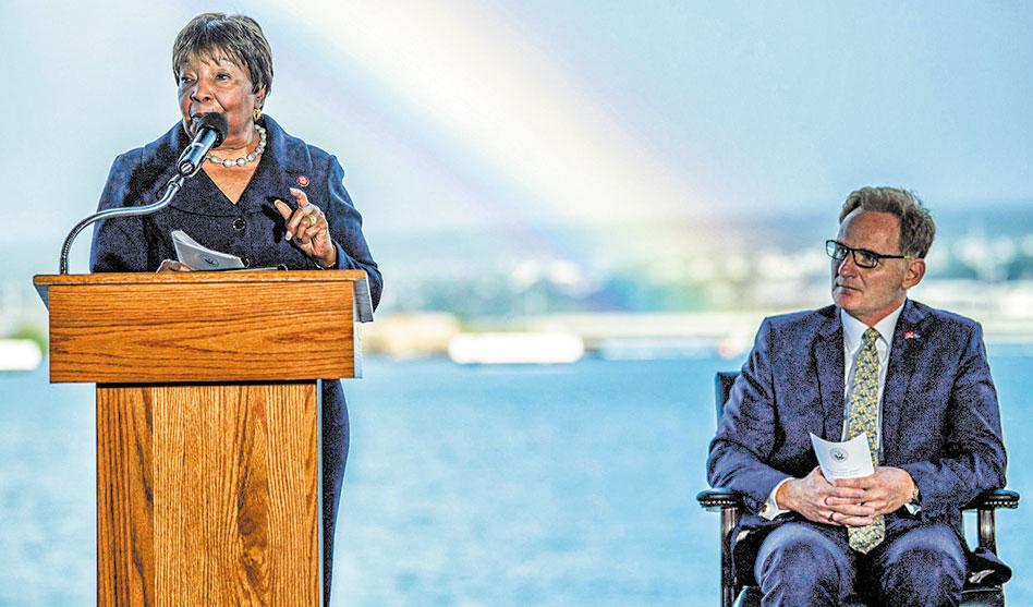 Doris Miller recognized