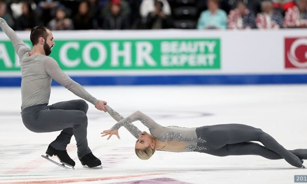 Dallas team heading into skating finals tonight in third