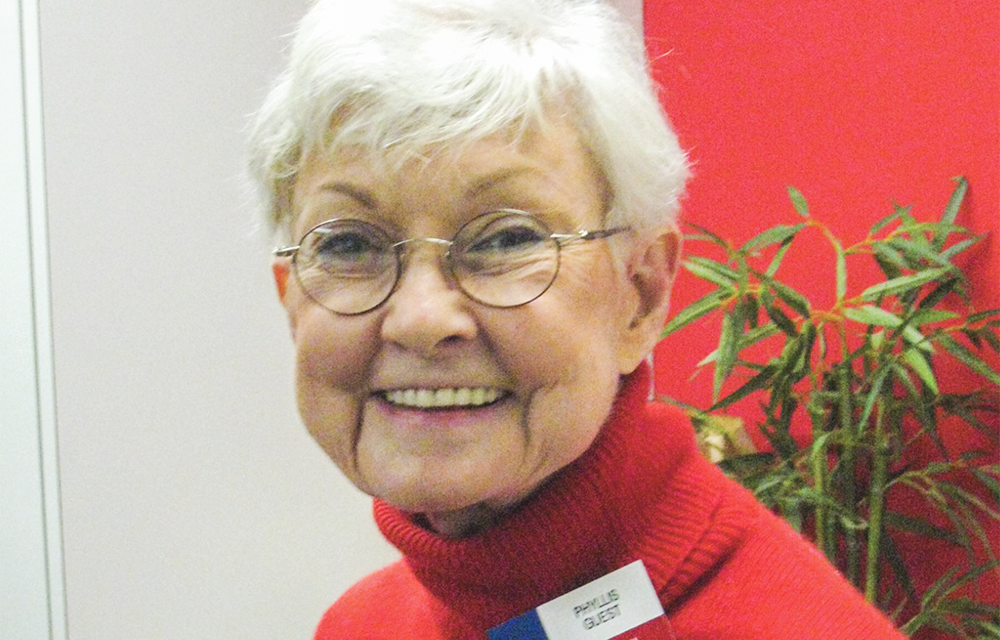 Phyllis Guest made a difference