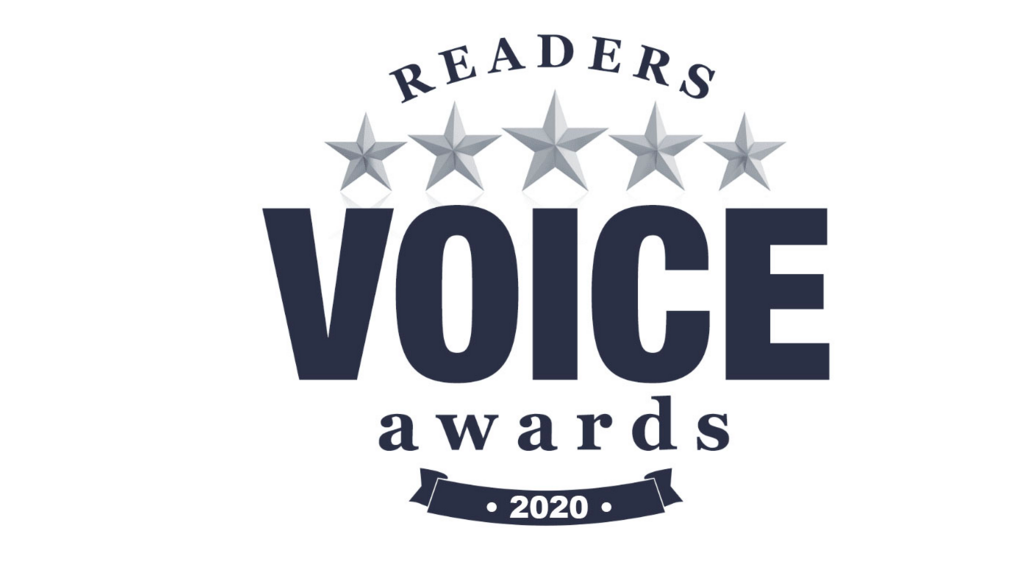 Time again to vote for the Readers Voice Awards!
