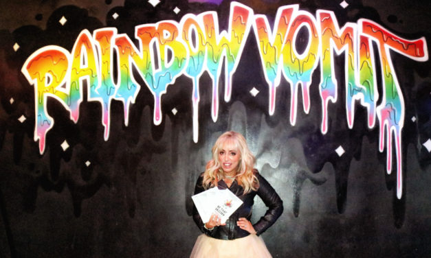 Thanks again, Rainbow Vomit: Jenny Block holding book signing party
