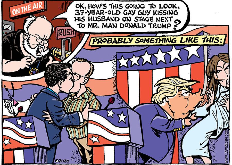 Editorial Cartoon • 02-21-20