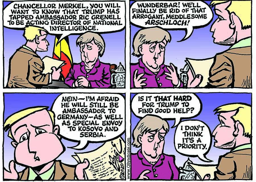 Editorial Cartoon • 02-28-20