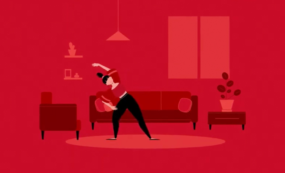 GET MOVING: Daily exercise videos brought to you courtesy of the American Heart Association