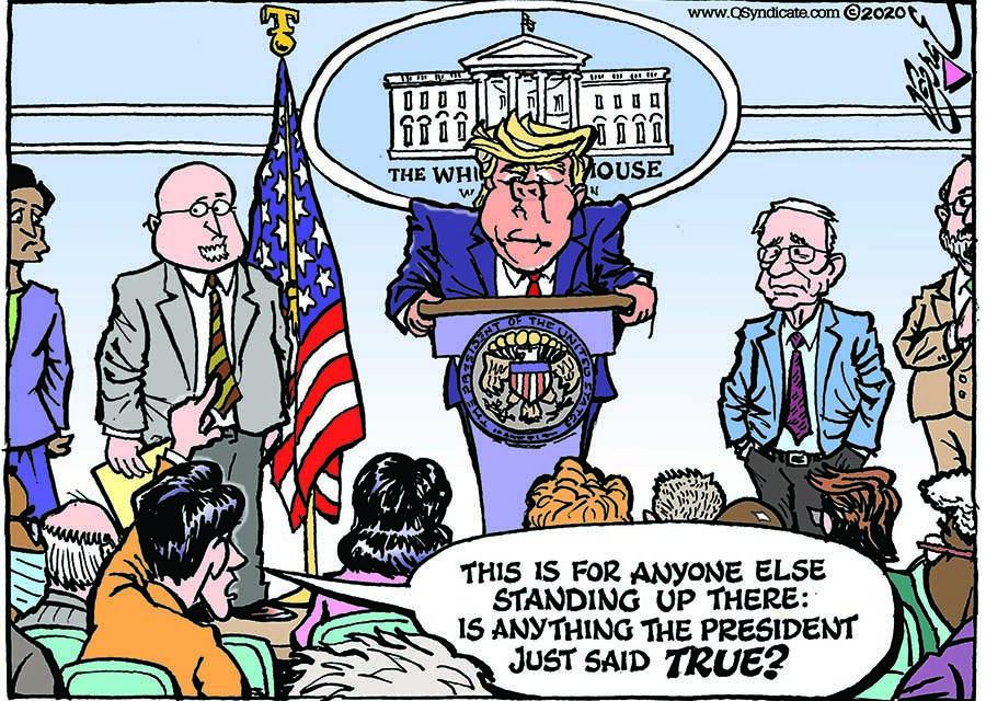 Editorial Cartoon  03-27-20