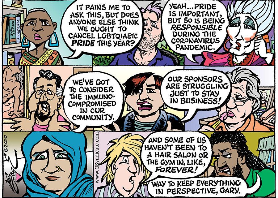 Editorial Cartoon • 05-01-20