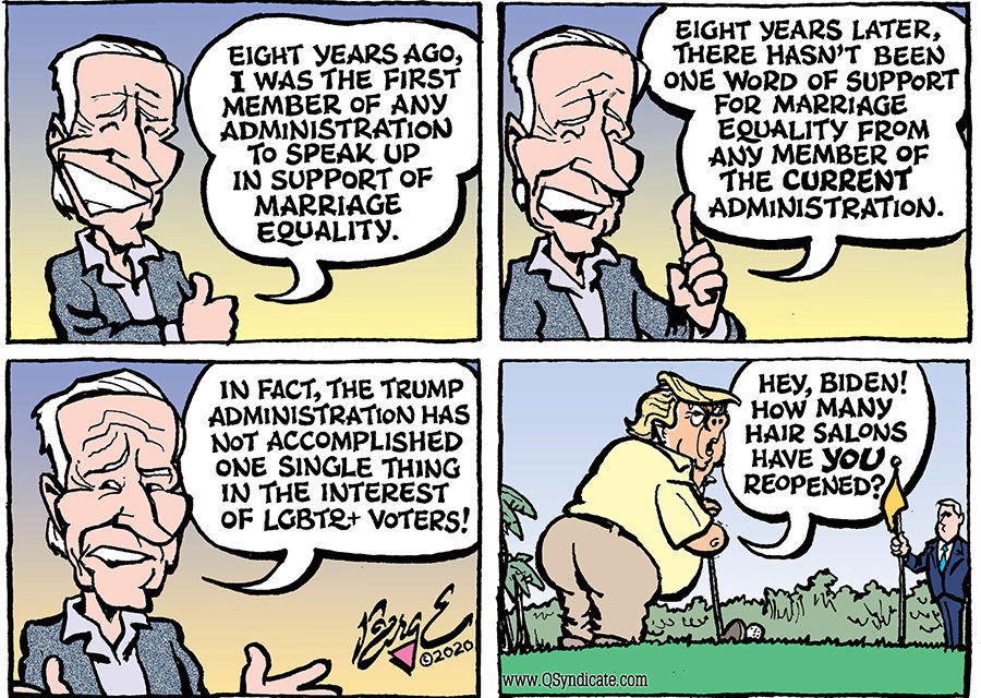 Editorial Cartoon • 05-22-20