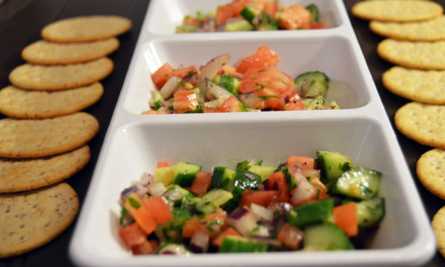 Recipe box: Israeli salad