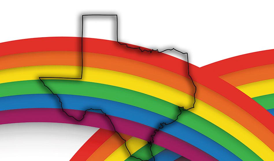 Pride around Texas