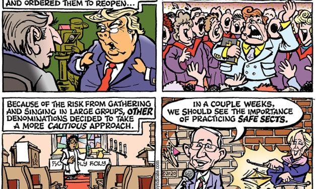 Editorial Cartoon • 06-05-20