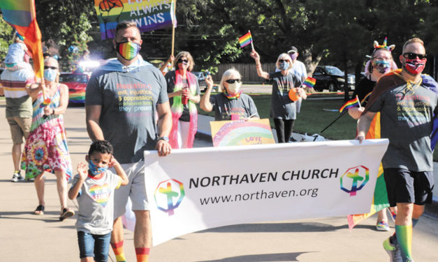 Northaven Church holds Pride