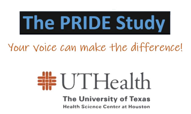 PRIDE Study survey looking for LGBTQ respondents in Texas