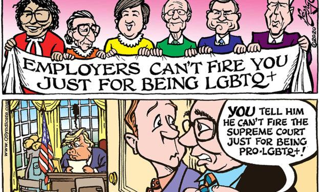 Editorial Cartoon • 07-03-20