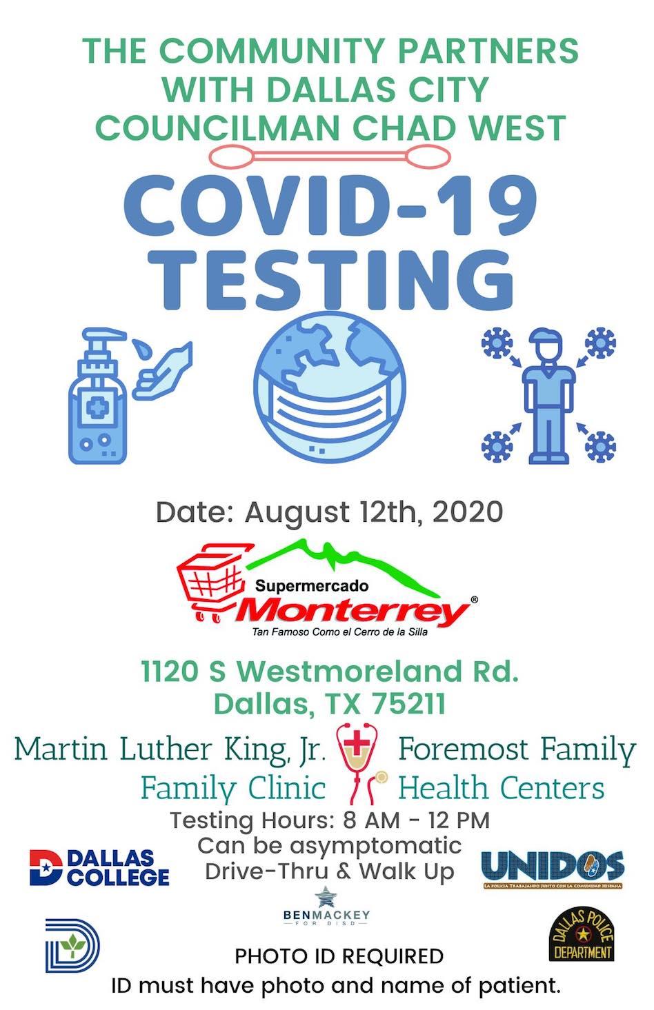 COVID-19 testing offered in Oak Cliff - Dallas Voice
