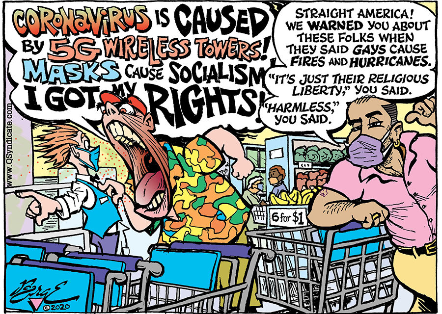 Editorial Cartoon • 08-07-20