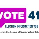 League of Women Voters Dallas launches voter information website
