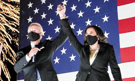 We ALL back Biden/Harris