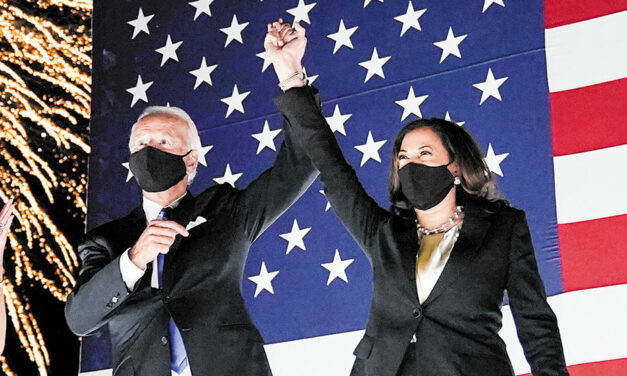 'The Biden-Harris administration will look like our country'