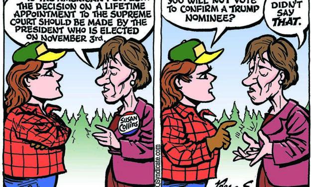 Editorial Cartoon • 09-25-20