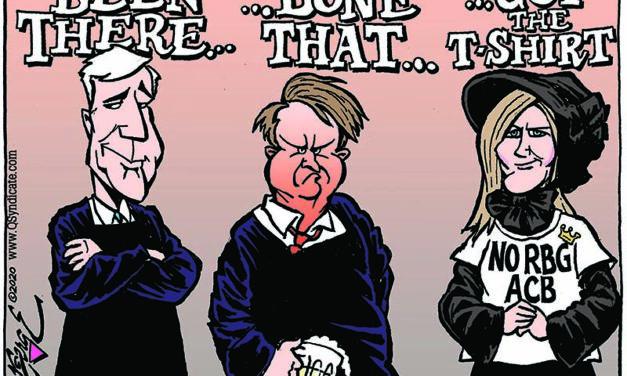 Editorial Cartoon • 10-02-20