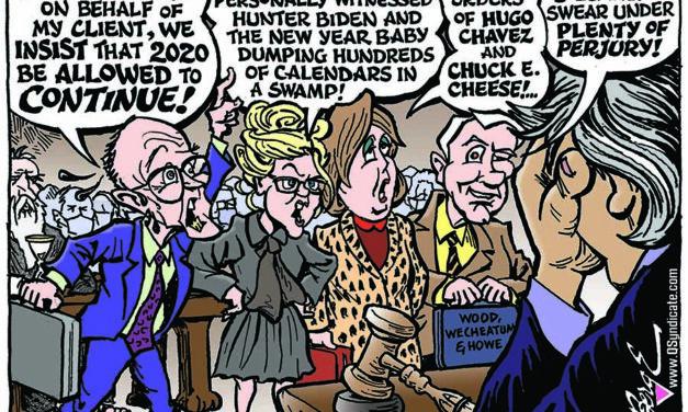 Editorial Cartoon • 01-15-21