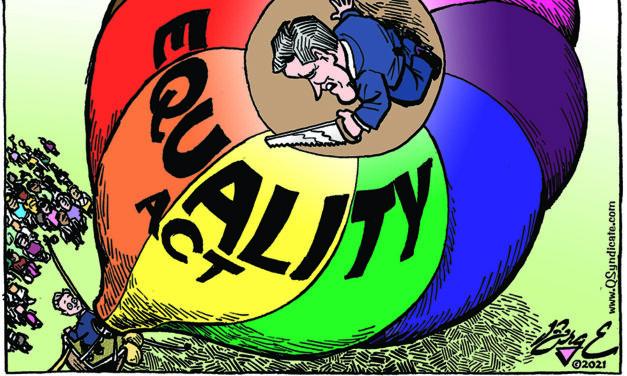 Editorial Cartoon • 03-12-21