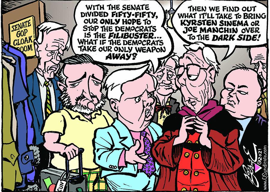 Editorial Cartoon • 04-02-21