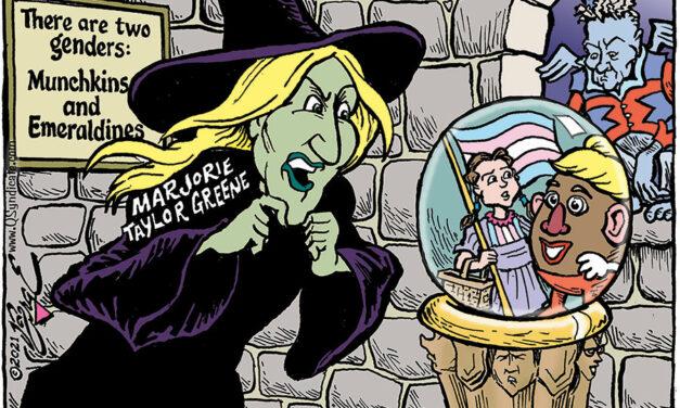 Editorial Cartoon • 03-19-21