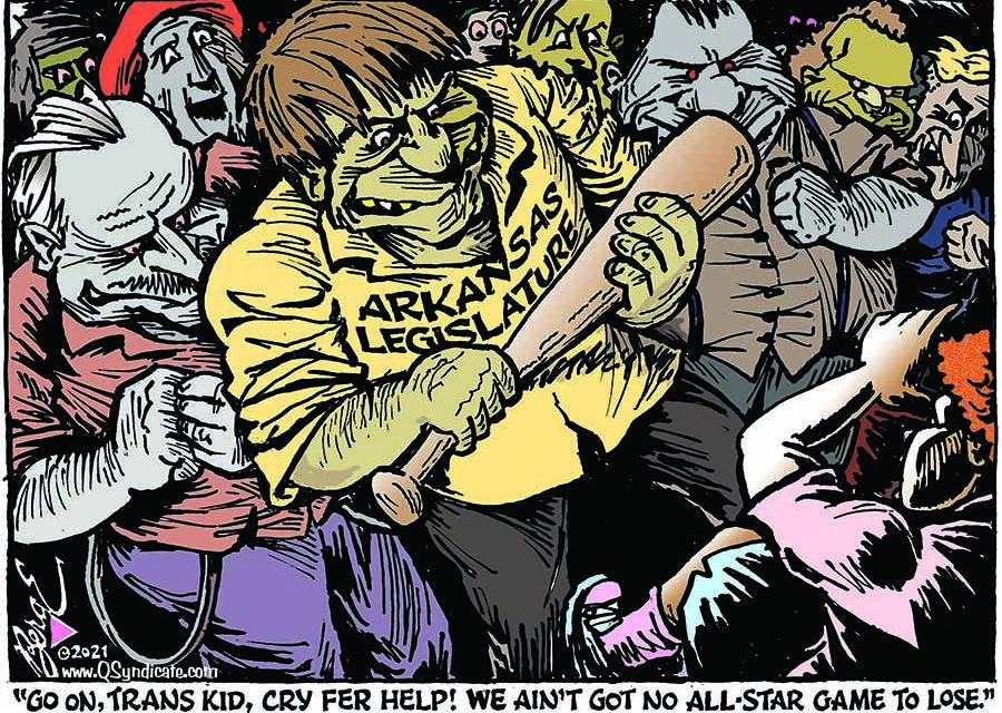 Editorial Cartoon • 04-30-21