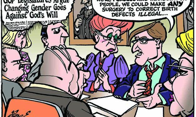 Editorial Cartoon • 04-23-21