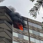 BREAKING: Dallas Fire Rescue fighting blaze at Maple Avenue high-rise