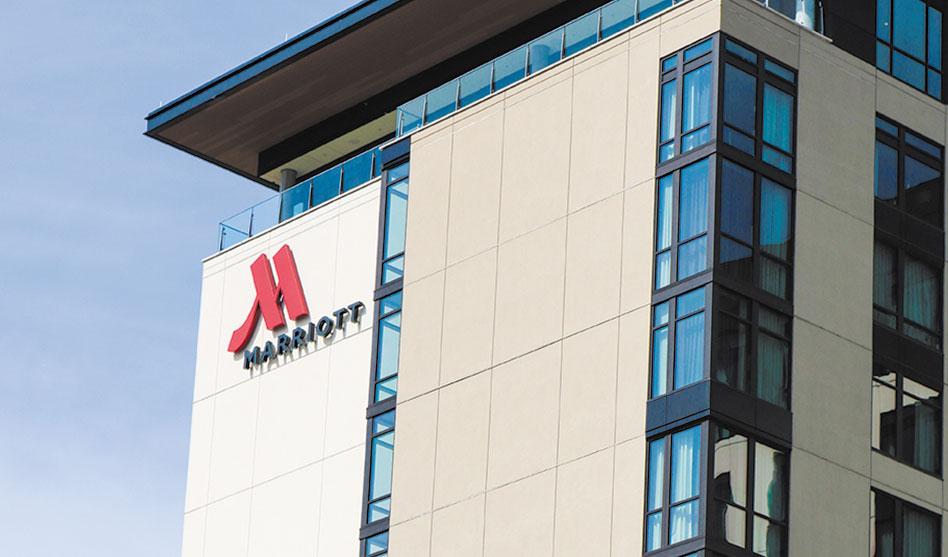 Marriott opens Uptown