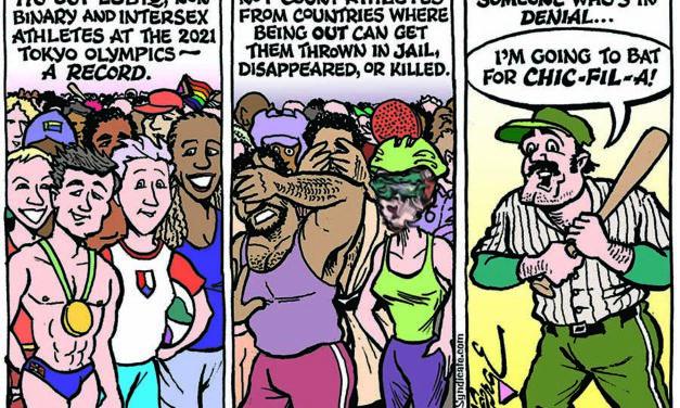 Editorial Cartoon • 08-27-21