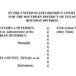 Texas man's family sues Montgomery County, city of Conroe over sting operation