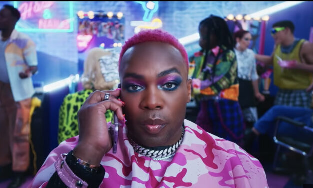 Todrick teams up with Samsung in new video playing off 'Nails, Hair, Hips, Heels'