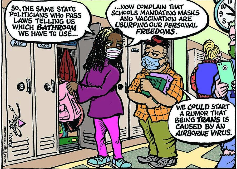 Editorial Cartoon • 10-01-21
